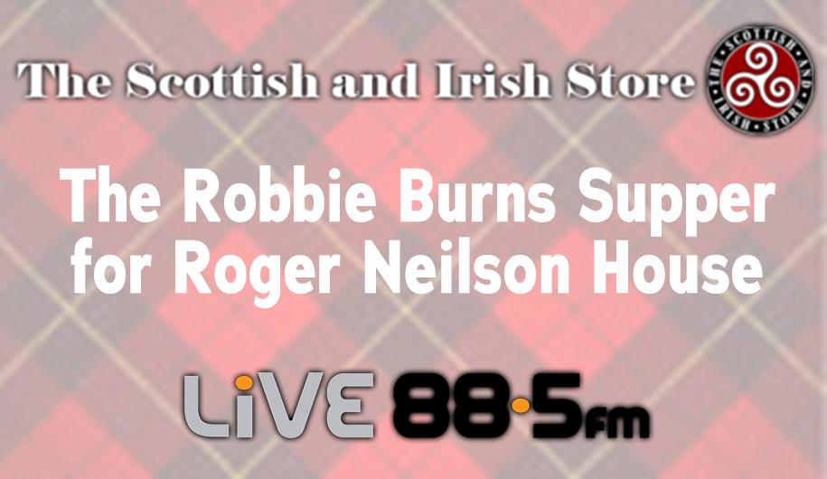 Robbie Burns Supper for Roger Neilson House